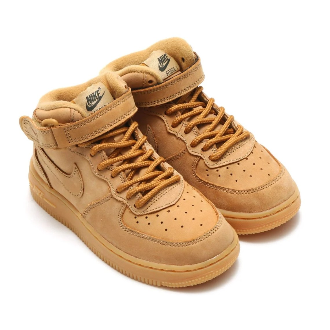 """Nike Air Force 1 Mid PS """"Wheat"""""""