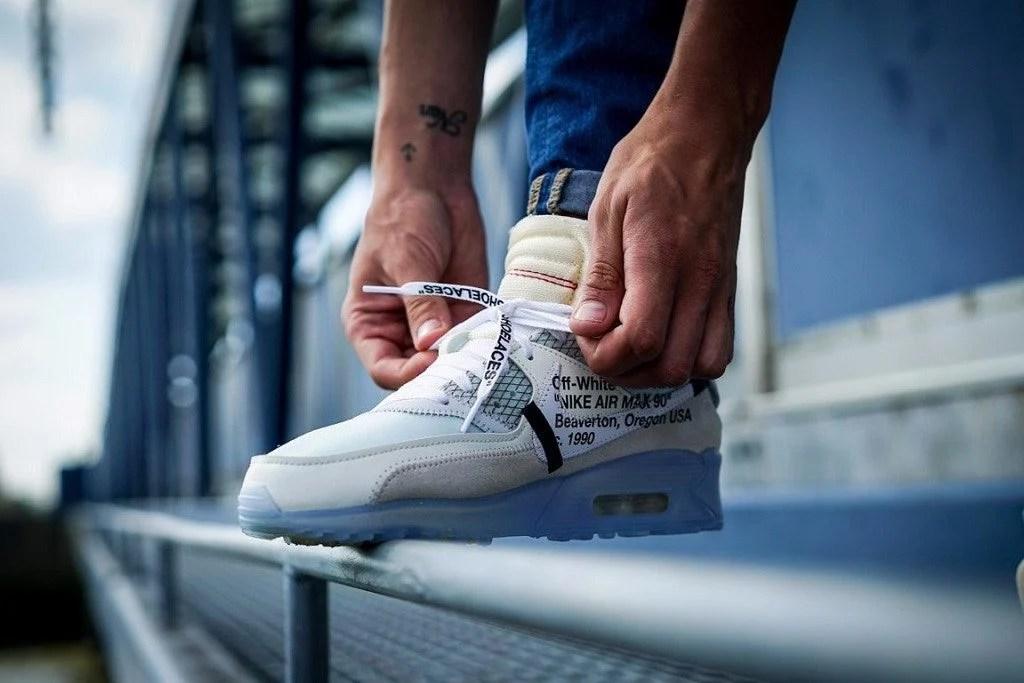 ... Off-White x Nike Air Max 90