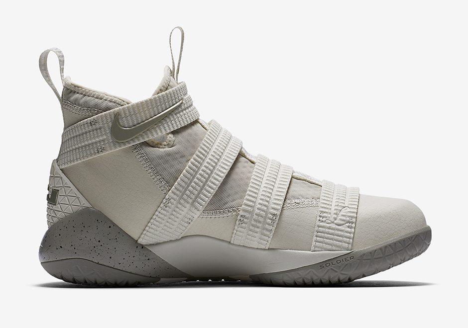 "Nike LeBron Soldier 11 SFG ""Light Bone"""