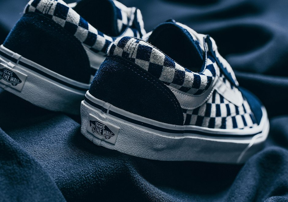 """31fba90f6e3 Look out for the Vans Japan """"Indigo Checkerboard"""" Pack on September 23 at  select overseas retailers including INVINCIBLE."""