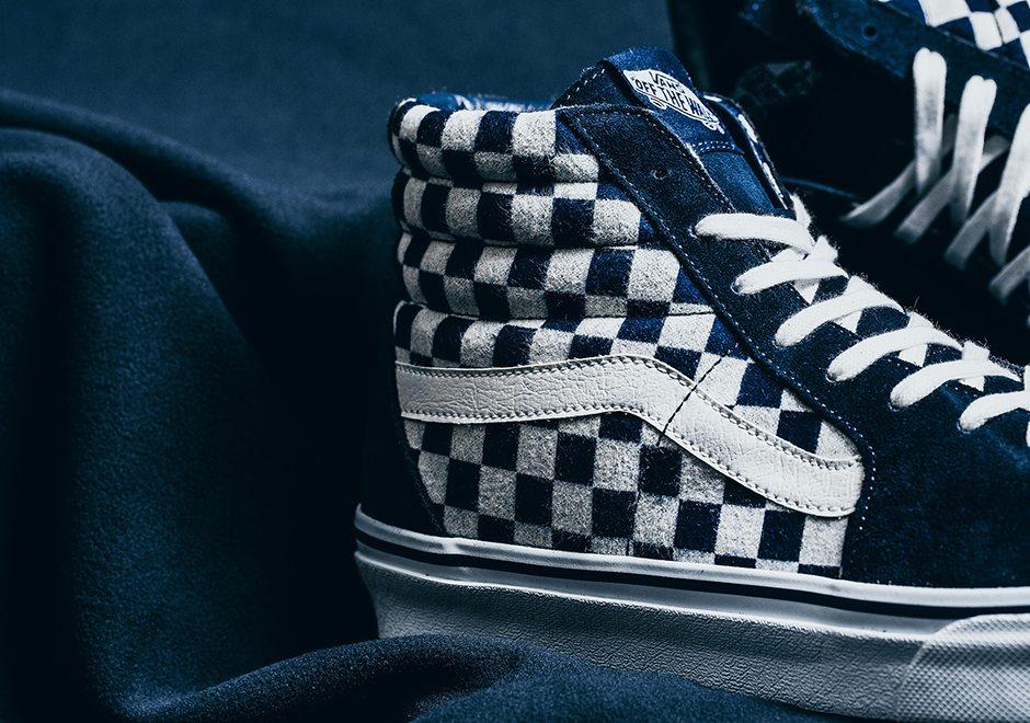 "Vans Japan ""Indigo Checkerboard"" Pack // Release Date"