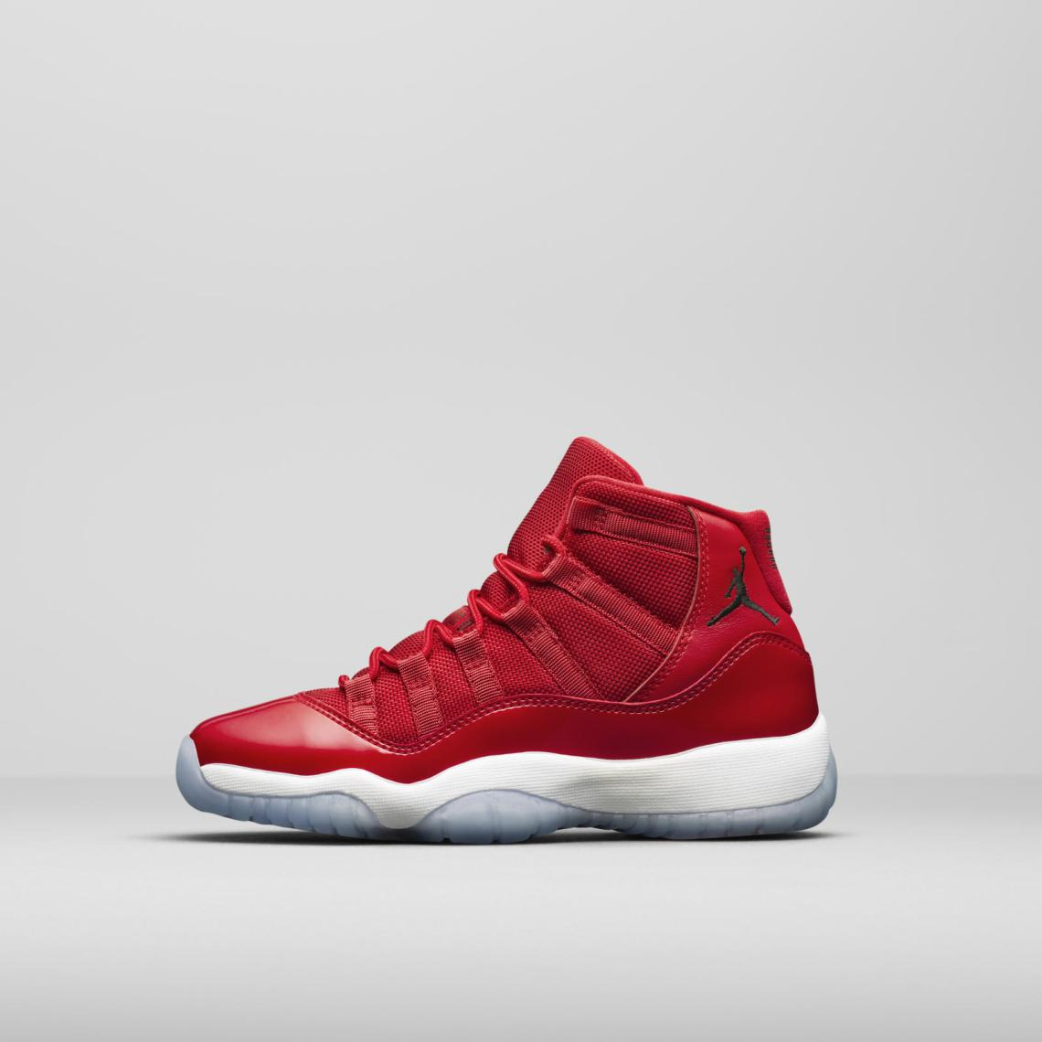 "new product a8a85 13990 Air Jordan 11 ""Win Like  96"". Colorway  Gym Red Black-White Style    378037- 623. Release Date  December 9, 2017. Price   220"