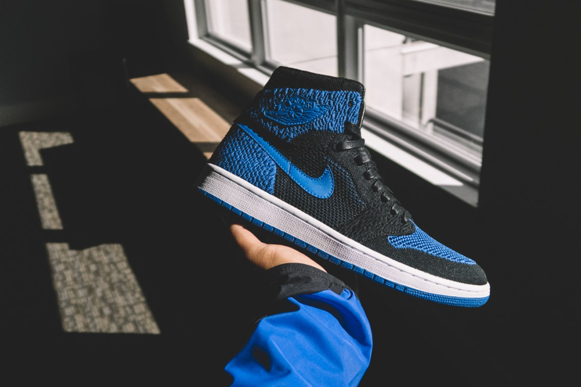 4914139dfb9ac9 Nice Kicks  How long ago did the idea for an Air Jordan 1 Flyknit come  about  Then
