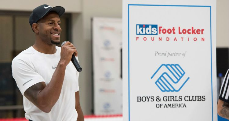 e3028ed52c6 Peep photos of Iguodala interacting with the kids below and visit Kids Foot  Locker for more information on the Fitness Challenge.