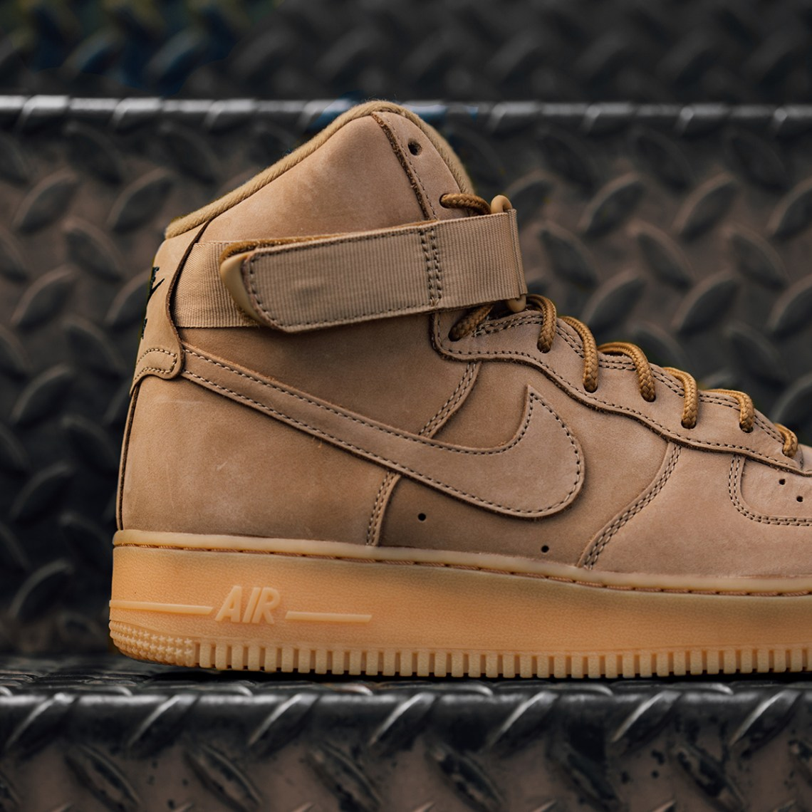 "cheap for discount 4d0d9 20c0a Nike Air Force 1 High ""Wheat"" ..."