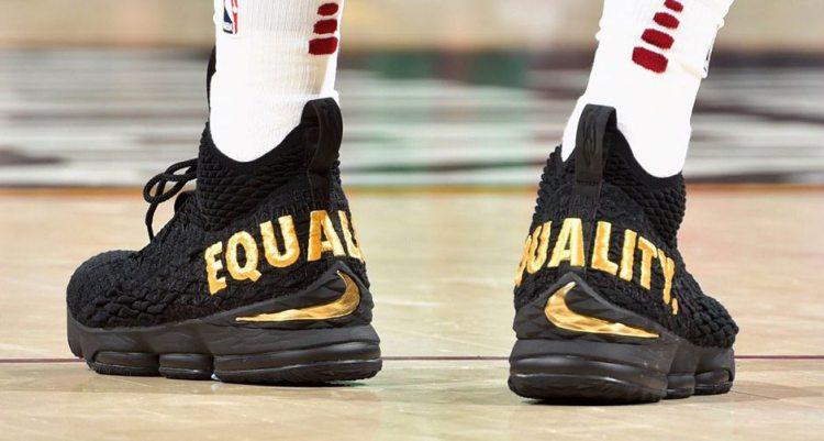 "Nike LeBron 15 ""Equality"" PE"