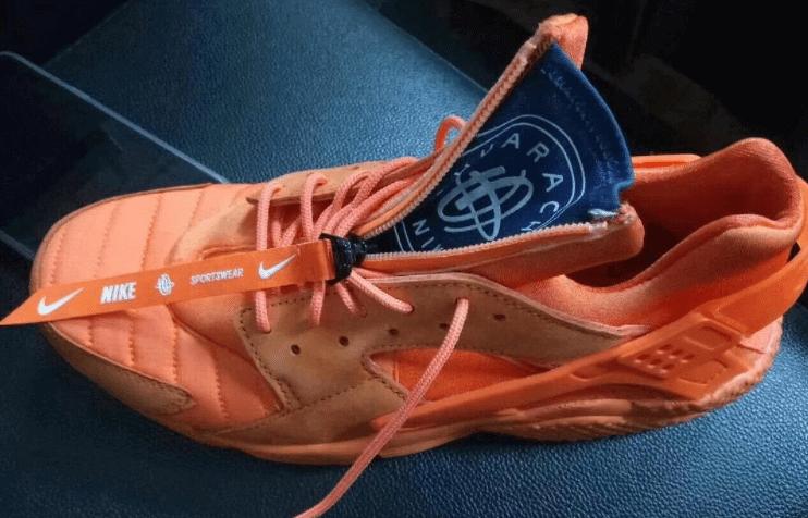 57e32bdd4e93 Nike Air Huarache Now Features a Zipper