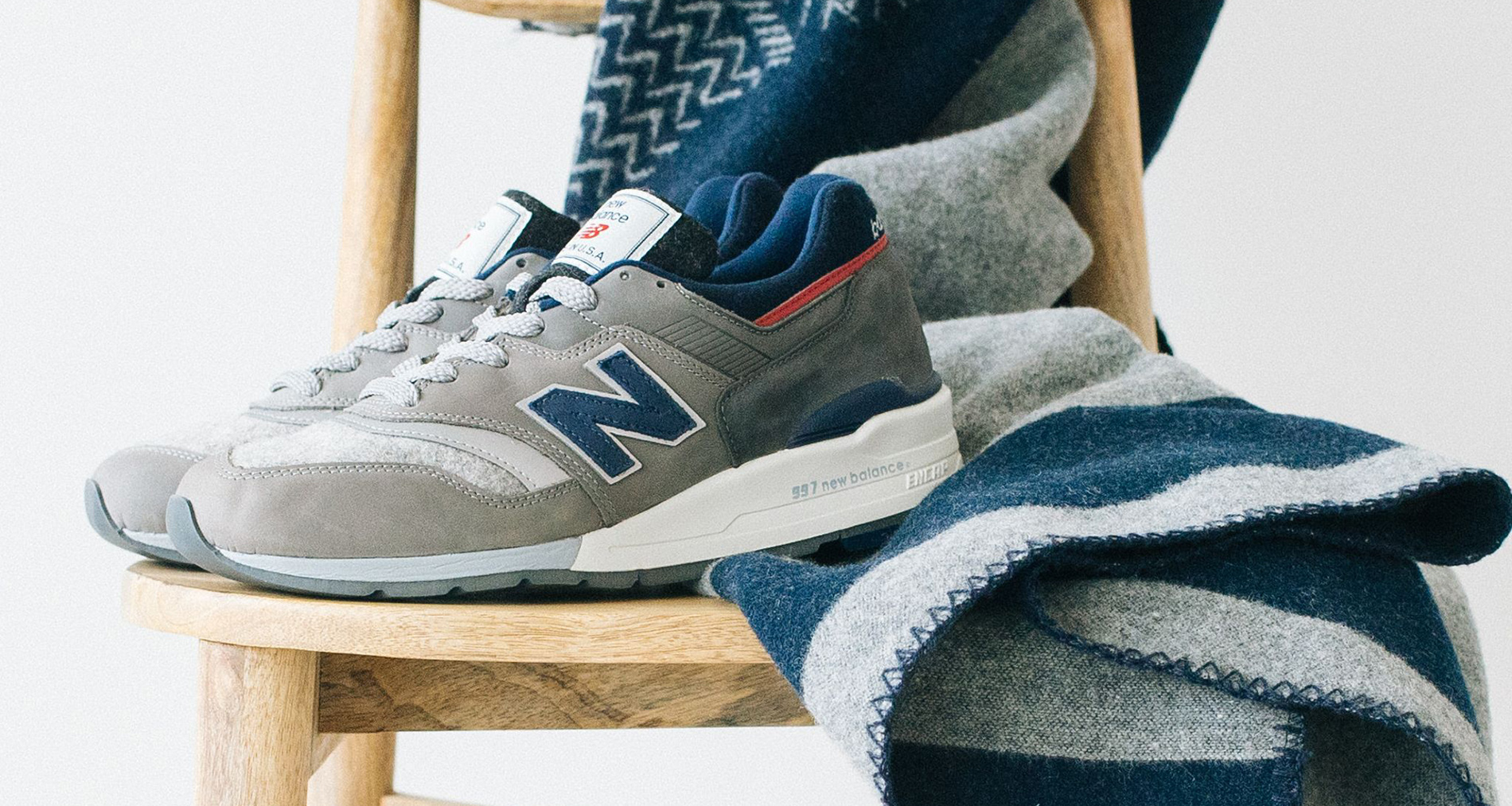 official photos d3474 4c6ef Woolrich and New Balance Debut 997 Collaboration | Nice Kicks