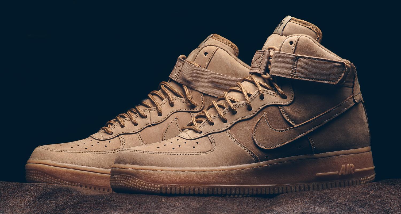 Nike Air Force 1 High 07 LV8 Wheat Release Date Sneaker