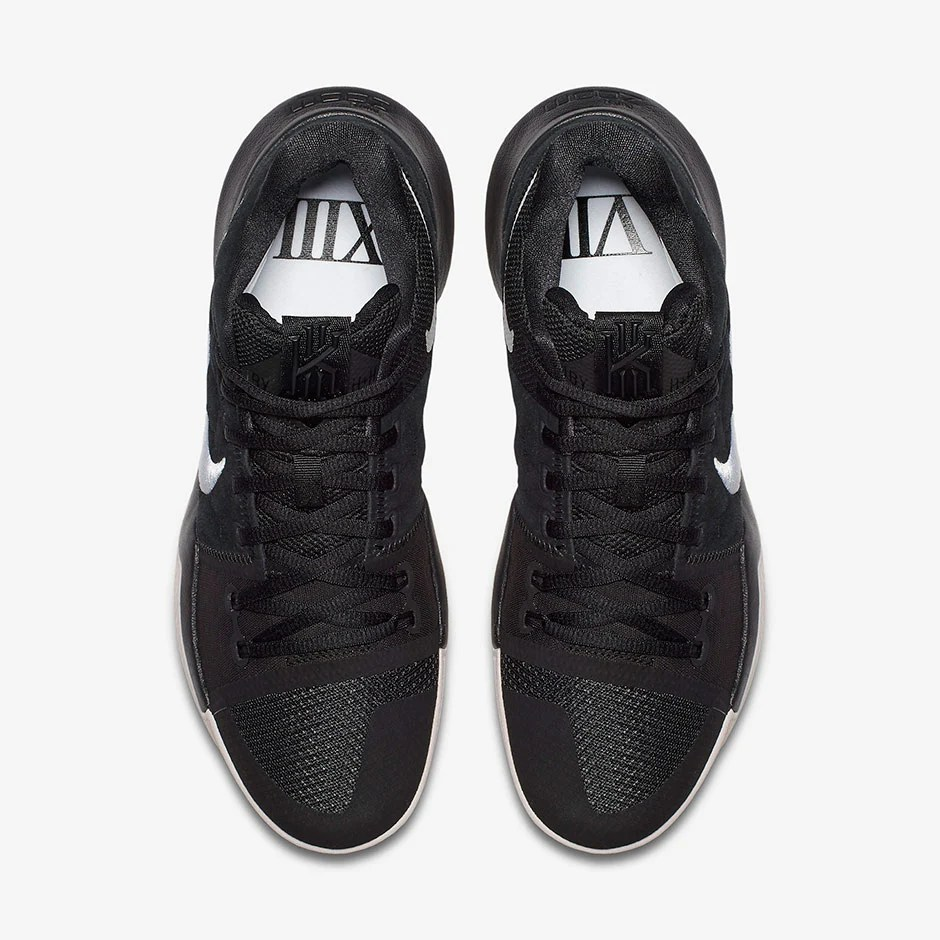 98e45139387da3 Nike Kyrie 3 Goes Lifestyle with Black Suede