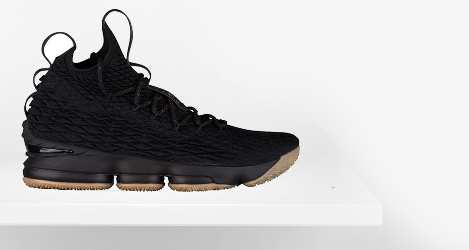 4dc502a2b3a Nike LeBron 15 Black Gum    Preview