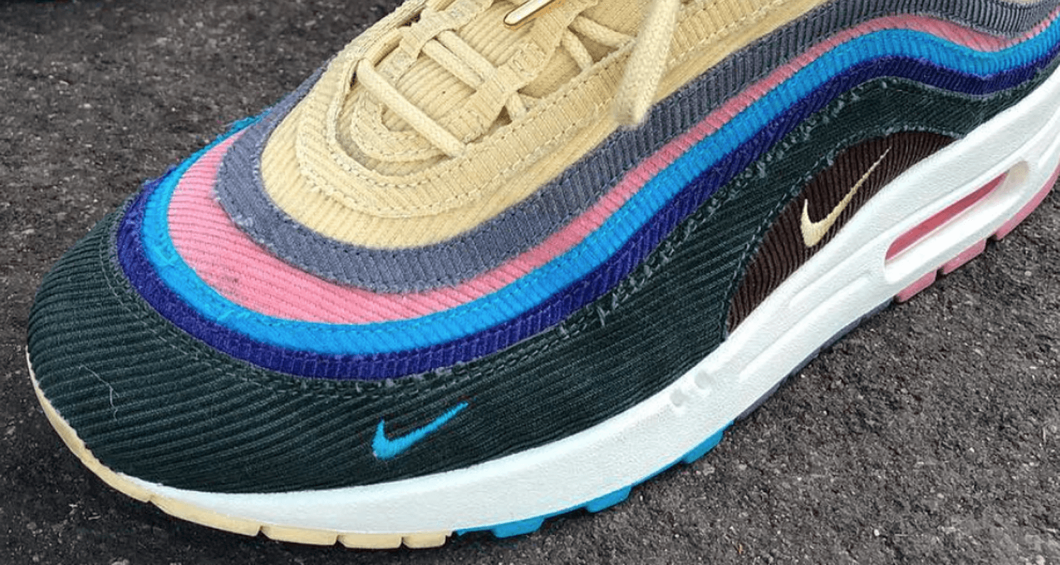 Sean Wotherspoon X Nike Air Max 97 Hybrid Preview
