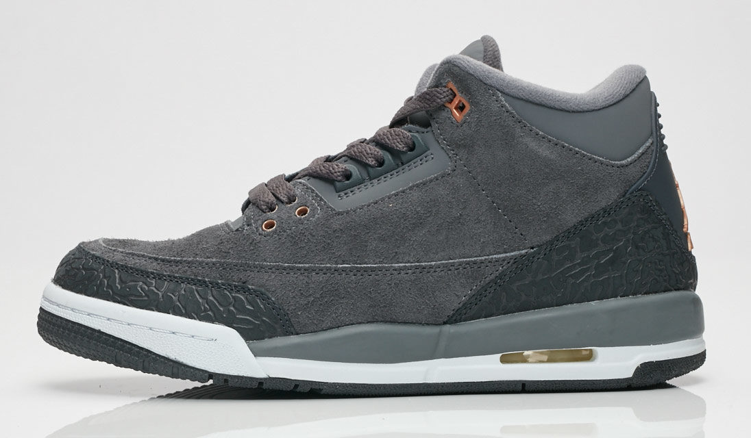 "Air Jordan 3 GS ""Dark Grey"""