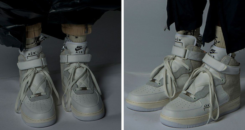 sale retailer dfc84 8b238 A-COLD-WALL x Nike Air Force 1 High Collaboration Will Release One Final  Time