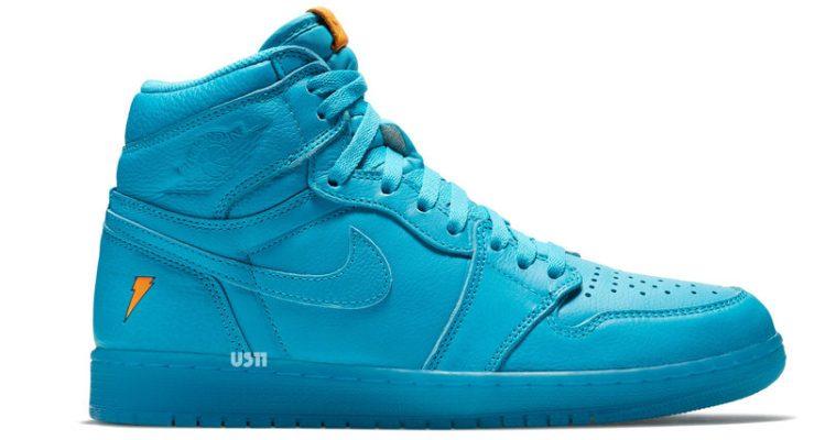 "Air Jordan 1 High ""Gatorade Blue Lagoon"""