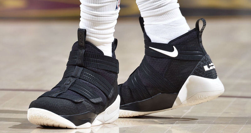 """c928f2857f36 LeBron James Dubs Last Night s Kicks """"The Ejected Game"""" Nike LeBron Soldier  11"""