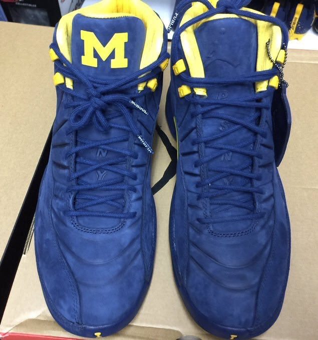 "PSNY x Air Jordan 12 ""Michigan"""