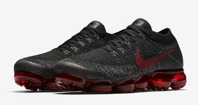 Nike Air VaporMax Black Red  50211f002