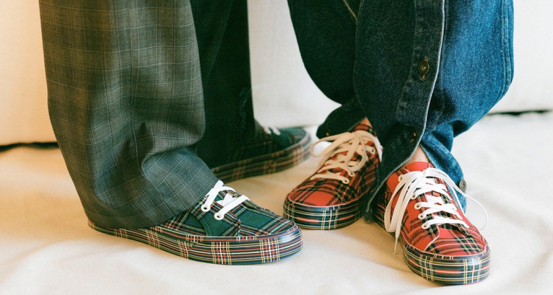 "Opening Ceremony x Vans ""Plaid"" Pack"