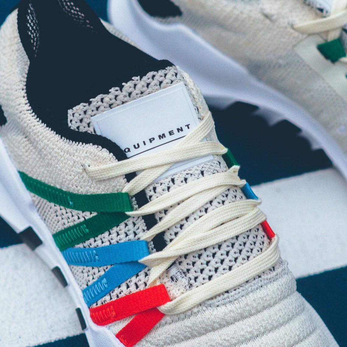 Pusha T adidas EQT Boost Greyscale TheShoeGame