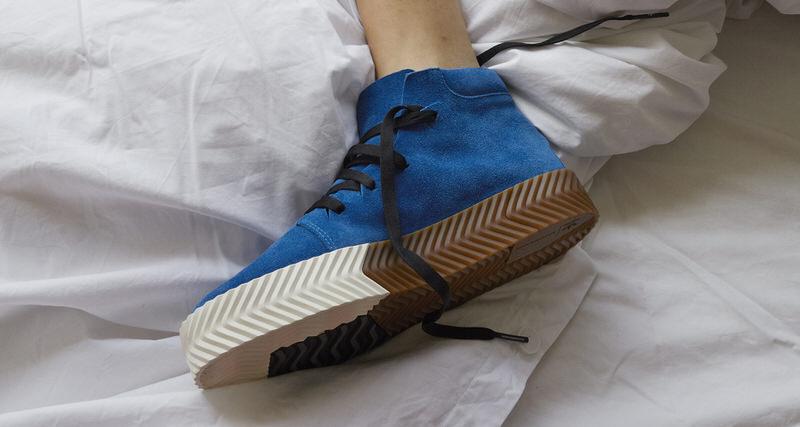 "more photos 92f34 e1691 Alexander Wang x adidas AW Skate Mid ""Bluebird""  Release Date"