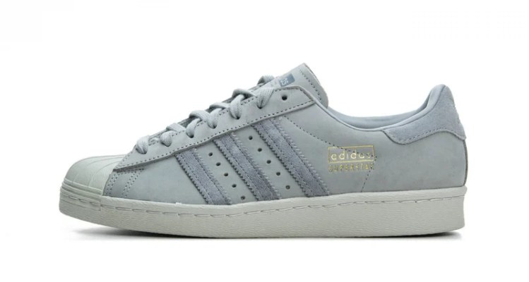 adidas Superstar 80s Grey/Light Grey