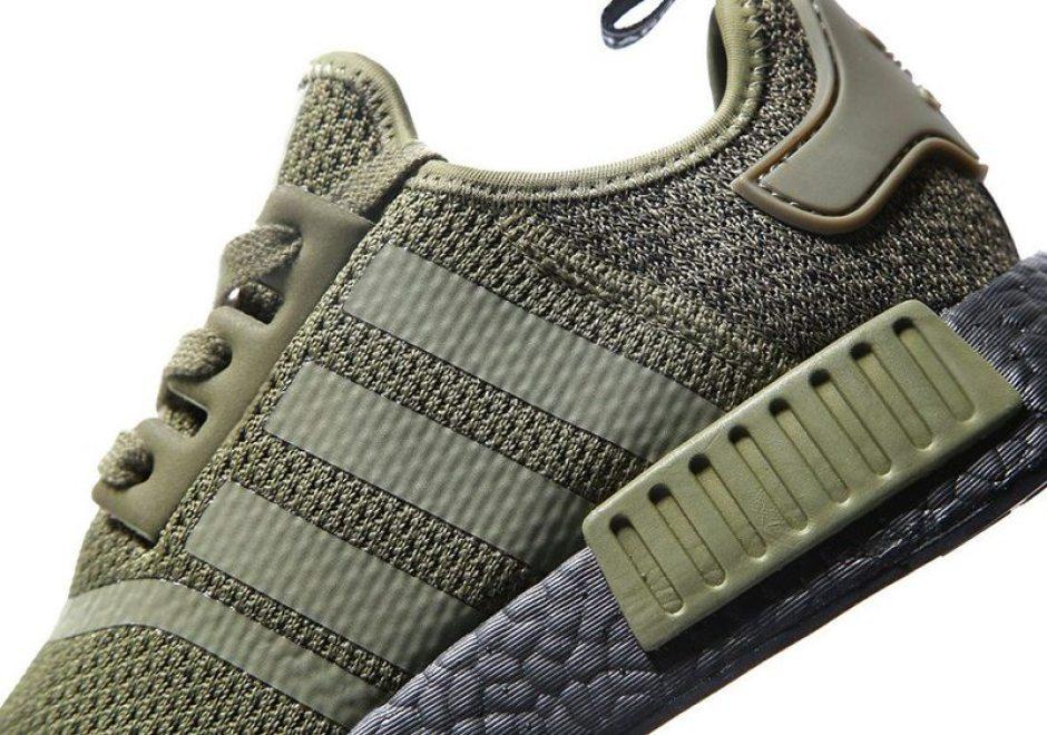 "adidas NMD R1 Wool ""Olive"""