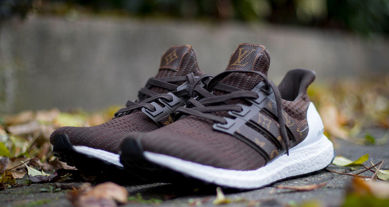 Louis Vuitton Styling Upgrades Adidas Ultra BOOST 40 On New Custom