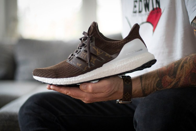 aa740dca496 Louis Vuitton Styling Upgrades adidas Ultra BOOST 4.0 on New Custom ...
