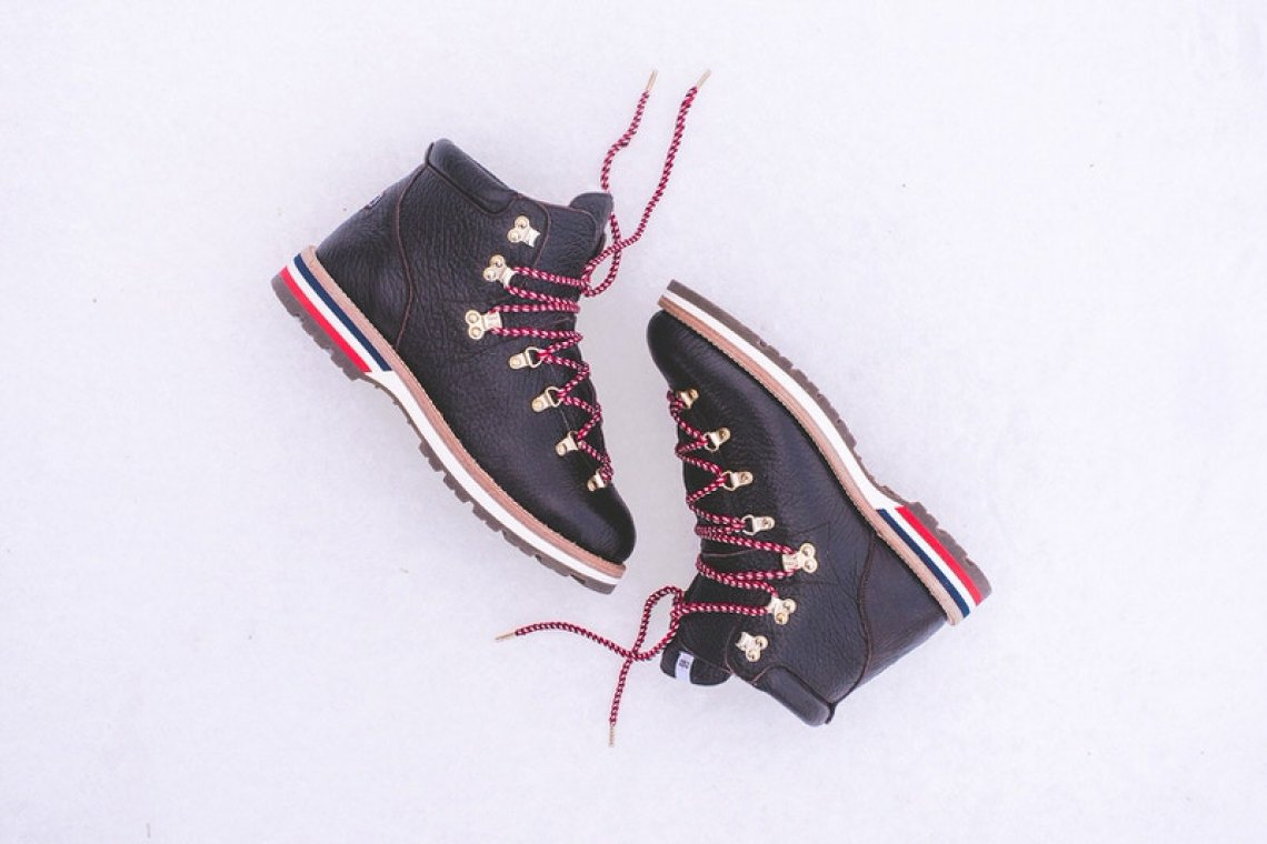 Kith x Moncler Peak Hiking Boot