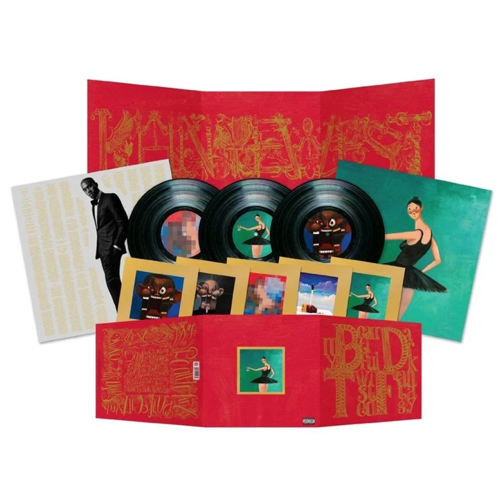 5c2d70d568cf5 Highlights  Art direction for Kanye West s My Beautiful Dark Twisted Fantasy