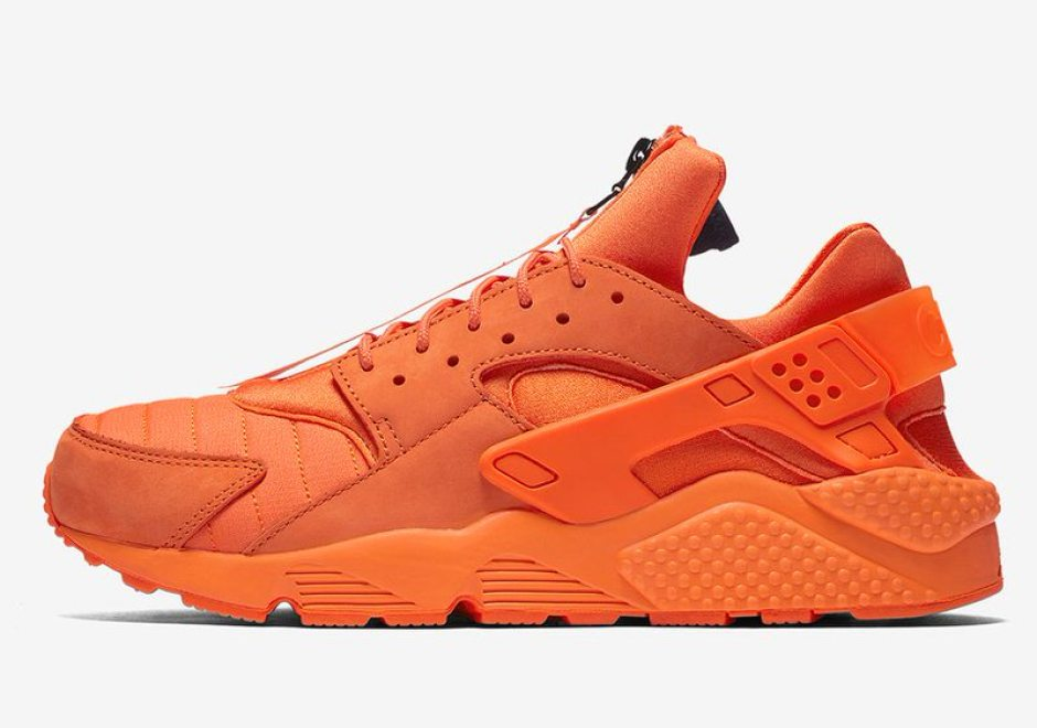 048e942f0052 Nike Air Huarache Updated with Zippers for Chicago Edition