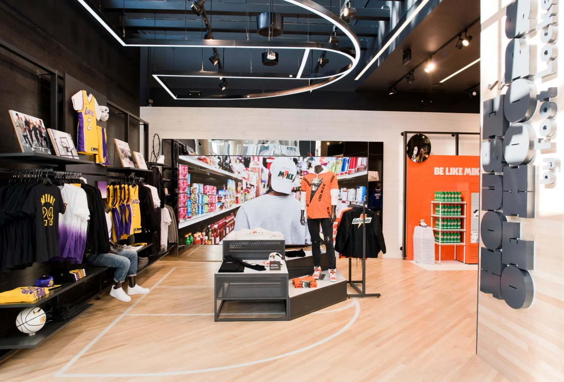 An Inside Look at Foot Locker's New LA Flagship Store