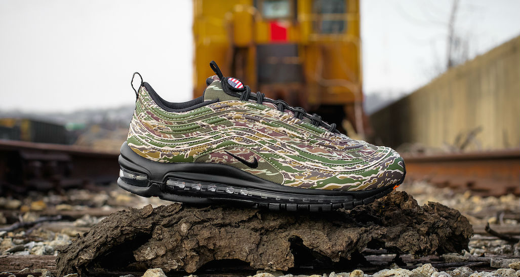 """Nike Air Max 97 """"Country Camo"""" U.S.A. Another Look Nice  Nice"""