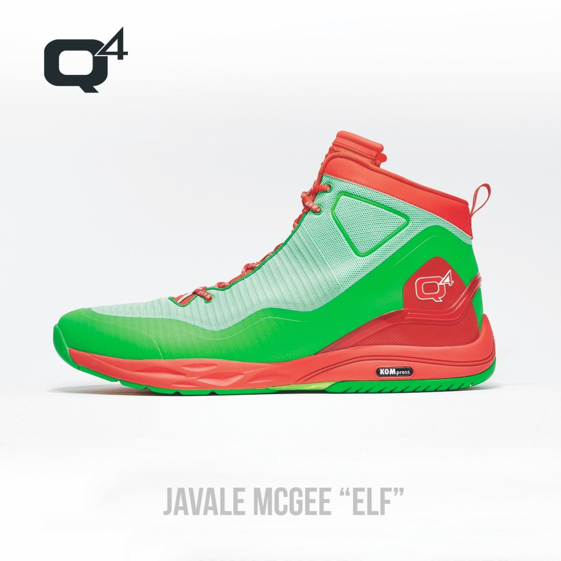 12952af9c069d9 Peep photos of both Moore s and McGee s Christmas-themed kicks from Q4  Sports below.