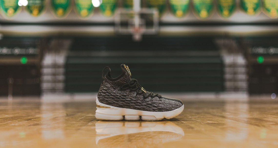 online retailer 98557 5be01 Kith and Nike Gift Exclusive LeBron 15 to St. Vincent-St ...