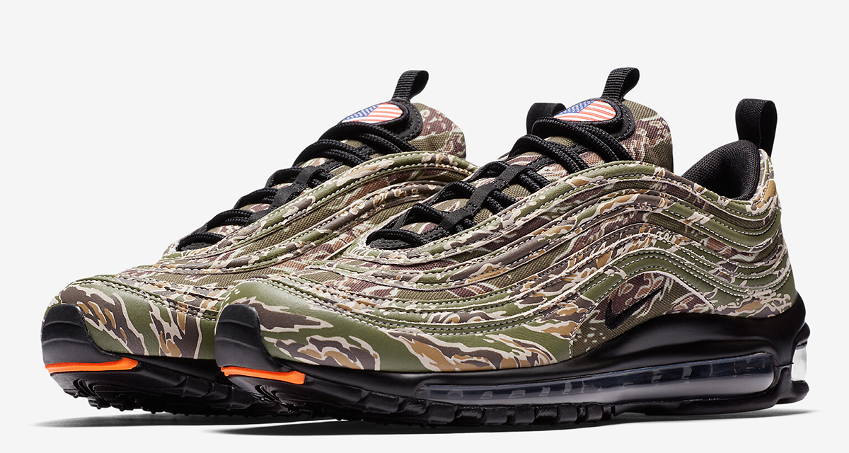 Nike Air Max 97 Country Camo France AJ2614 200 | SneakerFiles