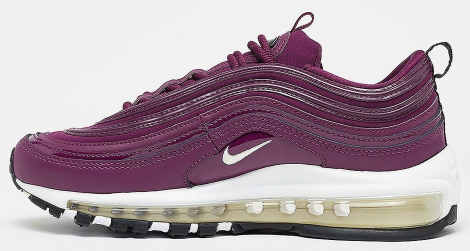 "buy online 090b7 5a248 Nike Air Max 97 ""Bordeaux"" for Ladies Features Patent Leather"