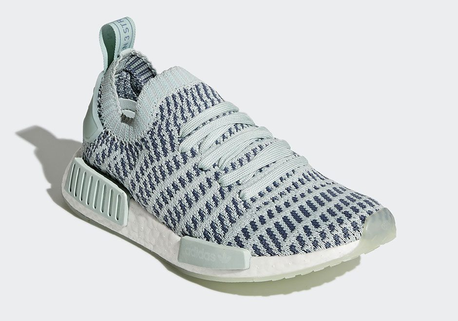 White Primeknit NMD R1 Shoes adidas UK