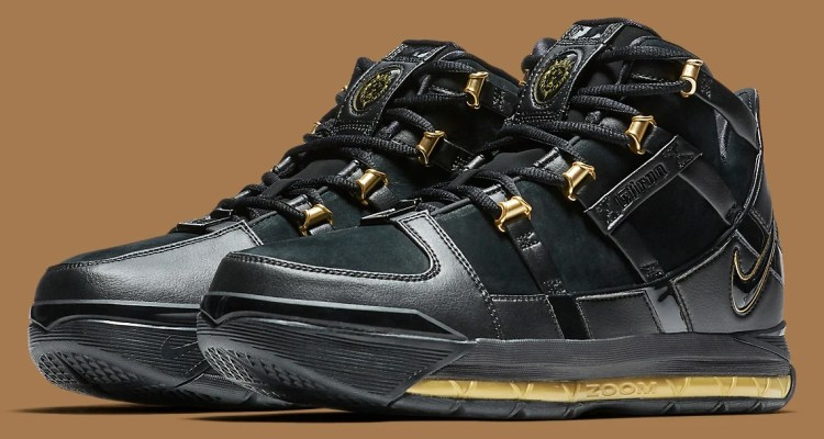 Nike LeBron 3 Black/Gold