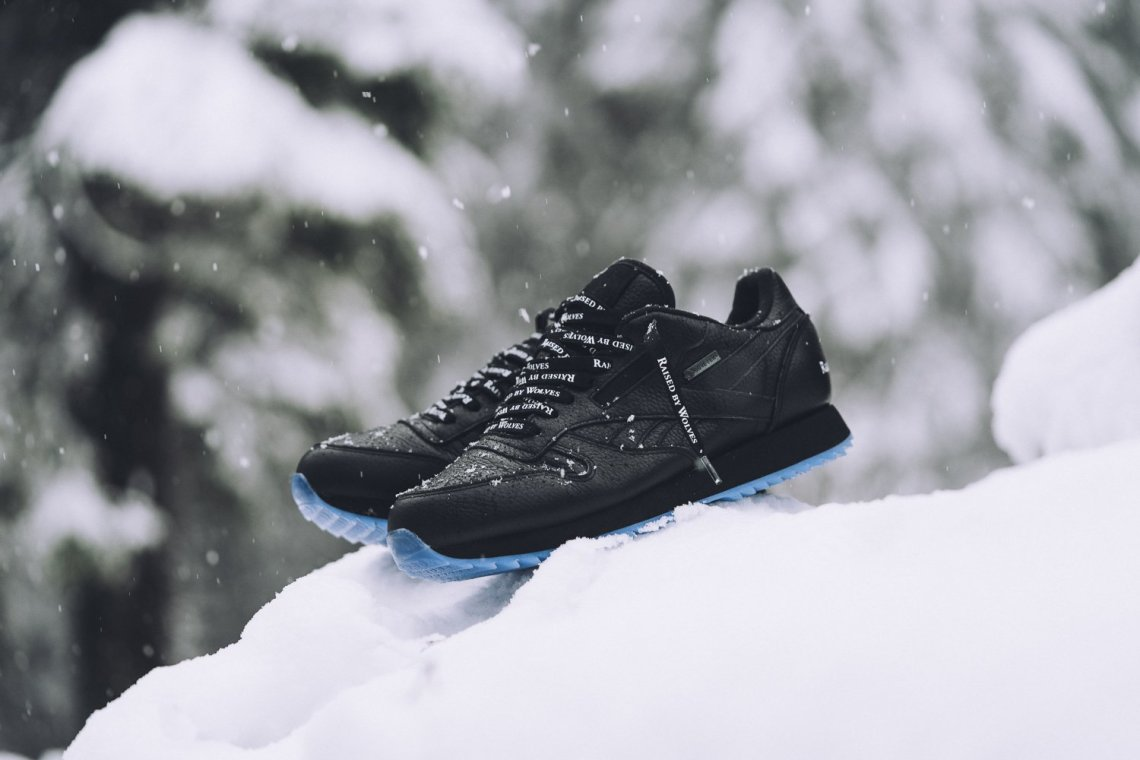 Raised By Wolves x Reebok Classic Ripple Gore-Tex Pack