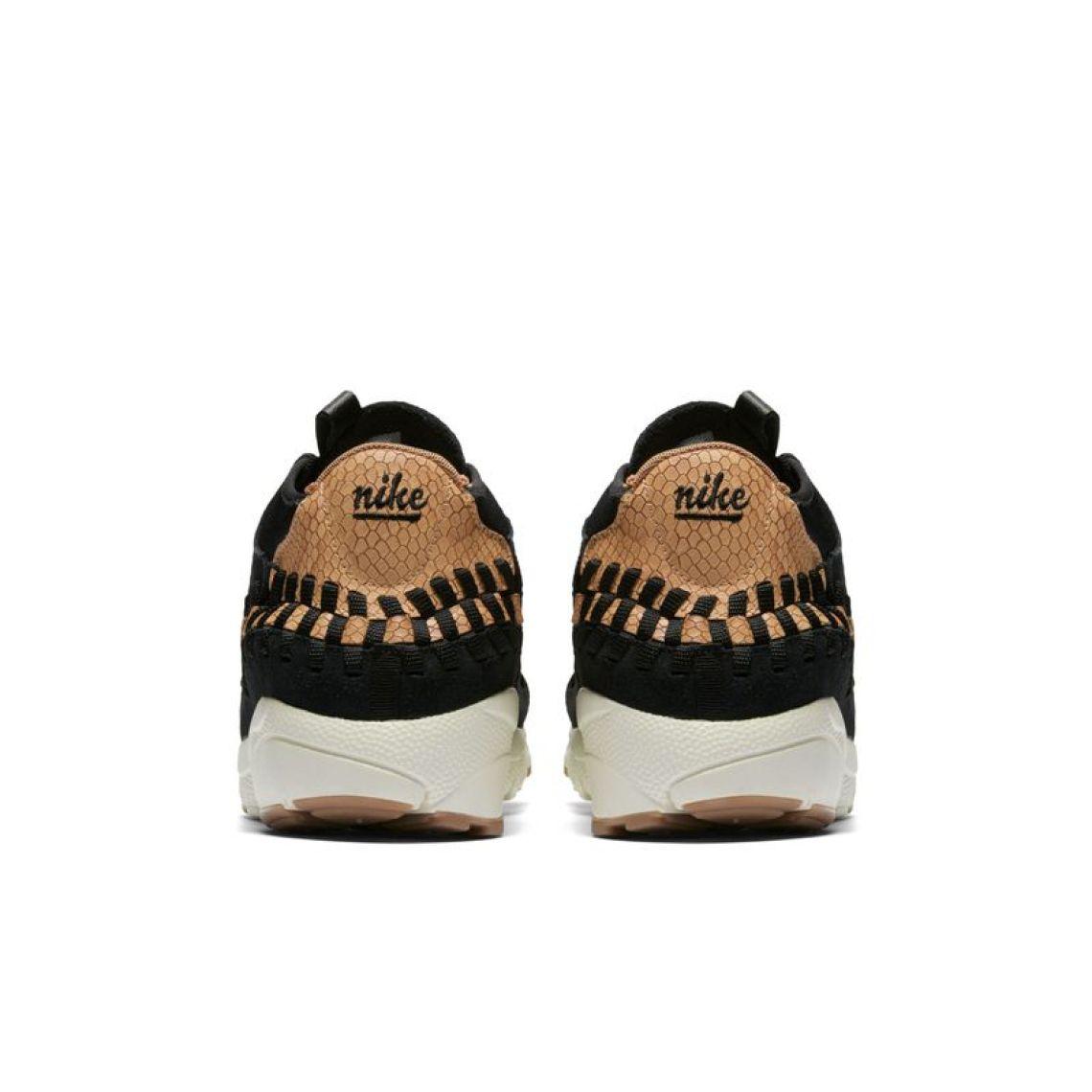 Nike Air Footscape Woven Chukka Black/Dark Russet