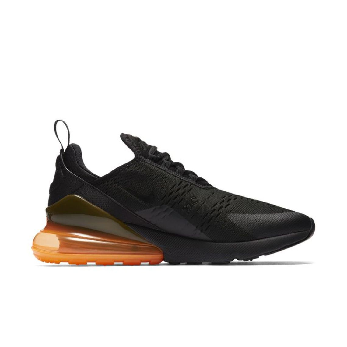 Nike Air Max 270 Black/Total Orange