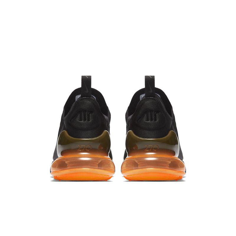 ... Nike Air Max 270 Black/Total Orange