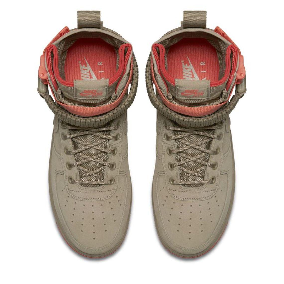 Nike SF-AF1 Tan/Pink