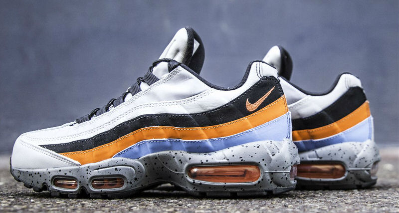 new arrivals 06dc6 e96fb Nike Air Max 95 Premium Wolf Grey/Safety Orange // Available ...