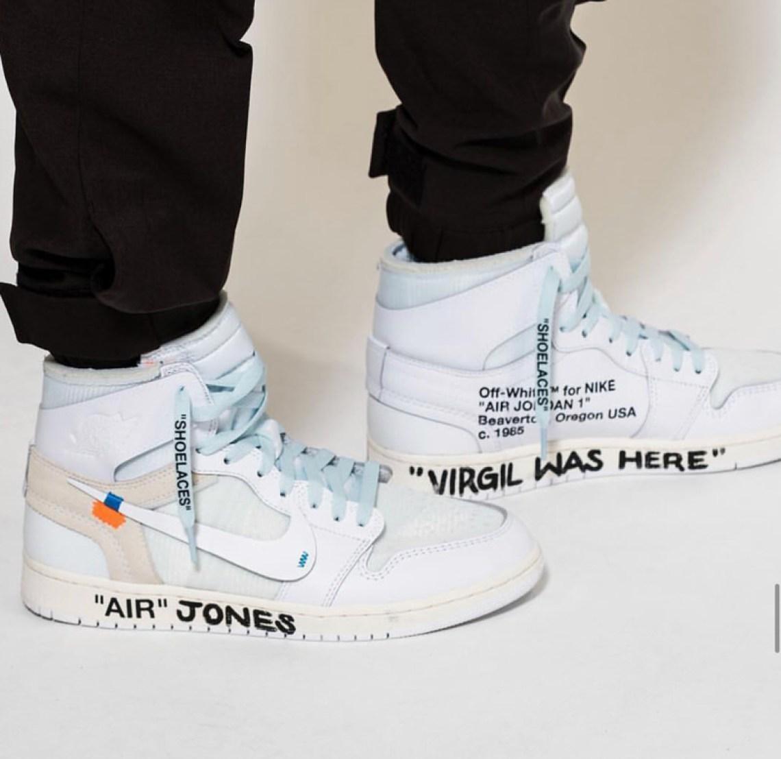 new style 1b396 56374 Off-White x Air Jordan 1 2018 | Nice Kicks