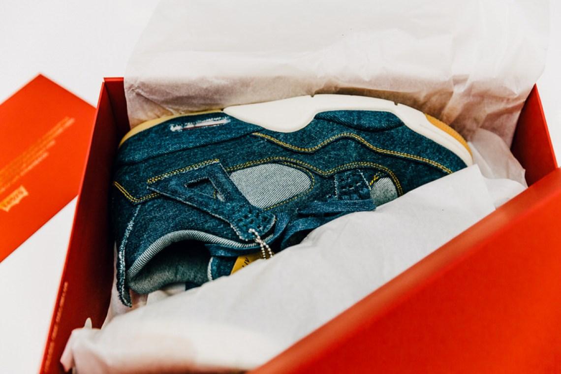 6b593f1fc30 Levi's x Air Jordan 4 & Jacket Release Date   Nice Kicks