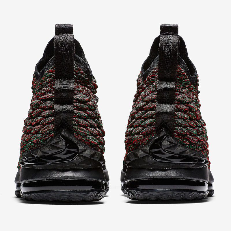 "new product 40922 4fd8f Nike LeBron 15 ""BHM"" ..."