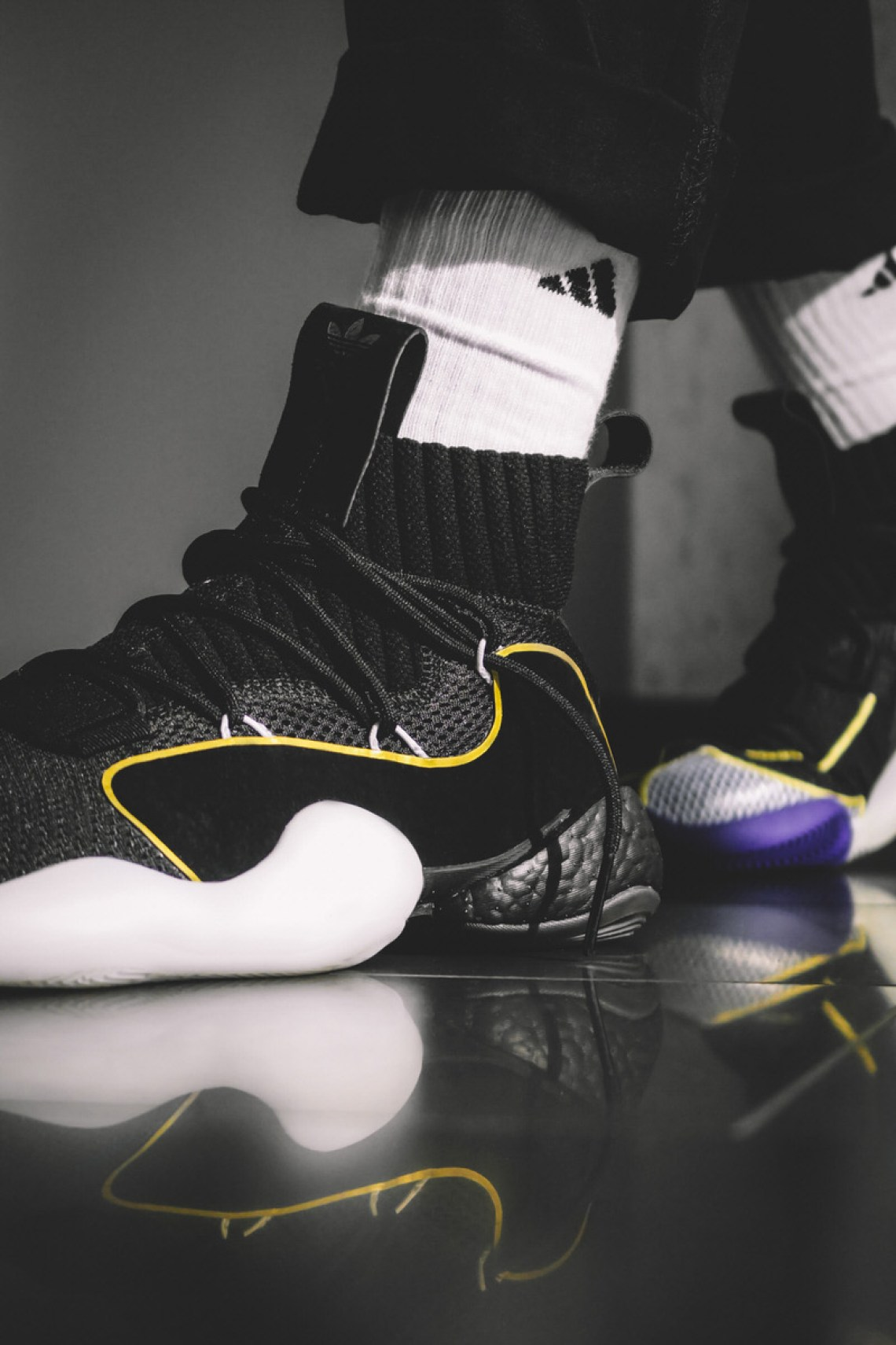 f8f0fe114 The Adidas Crazy BYW X Delivers Style   Performance For A Modern ...
